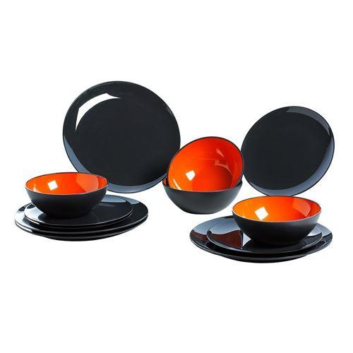 GIMEX Orange grey, servicesæt