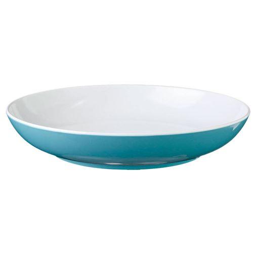 BRUNNER BLÅ SPECTRUM Dyb tallerken, blå