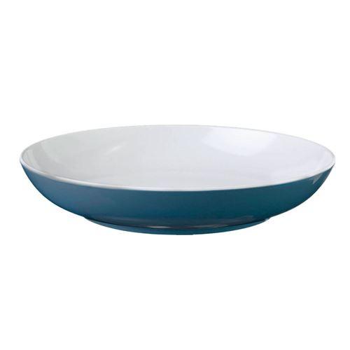 BRUNNER BLÅ SPECTRUM Dyb tallerken, mørkeblå