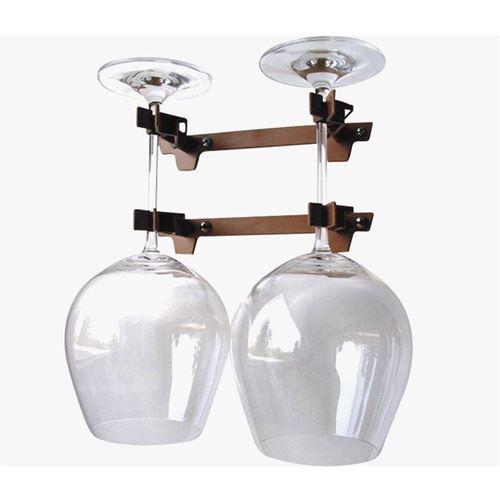 Dobbelt glasholder til vinglas