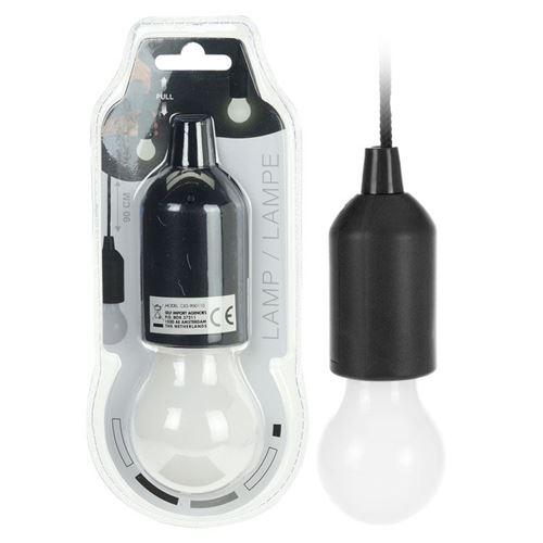 LED pære med fatning til batteri