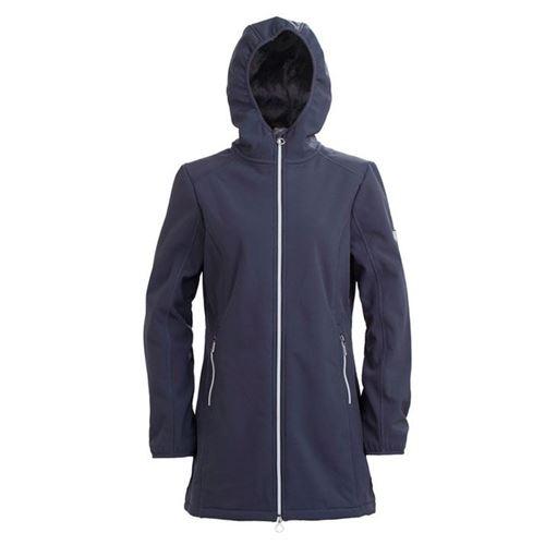 Tuxer Shelly - Vind-/vandtæt jakke med foer W/R 5000 Grafit Blue
