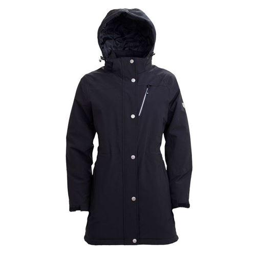 Tuxer Fey - Åndbar vind-/vandtæt jakke med foer W/R 10000 Black