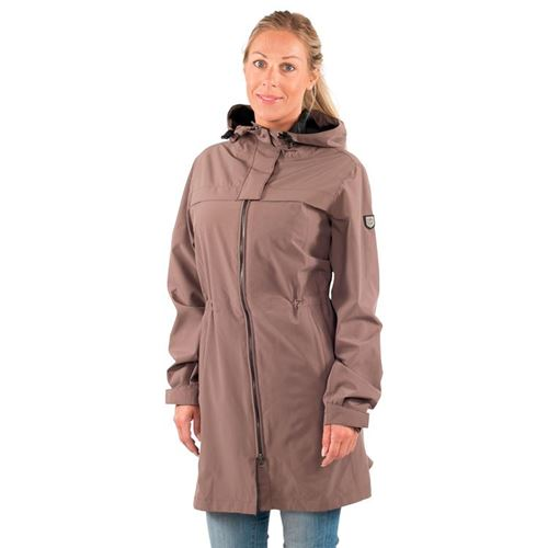 Tuxer Stay - Åndbar vind-/vandtæt jakke W/R 10000, Earth