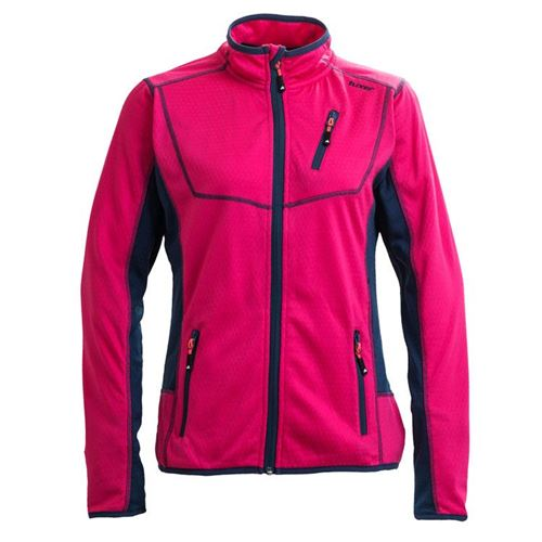 Tuxer Draft - sporti fleece - Pink hibiskus