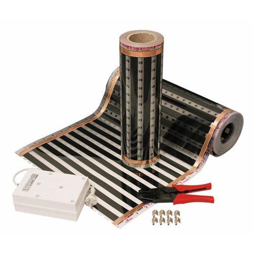 EBECO Ecoflex gulvvarmefolie pr. meter fra