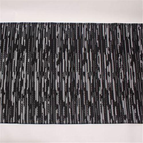 Åndbart mørkt markisetæppe 2,5m dybde NYHED - pris fra