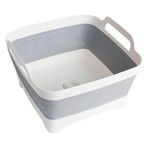 BRUNNER Foldbar opvaskebalje med afløb - NYHED