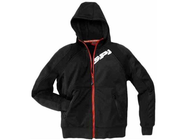 Spidi hoodie armor black - XXL