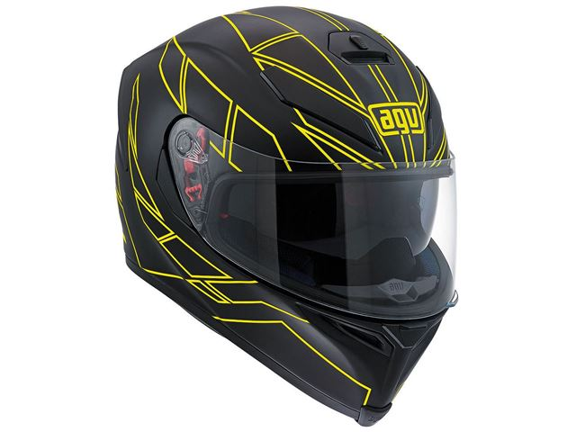 AGV K-5 S Hero black/yellow MS