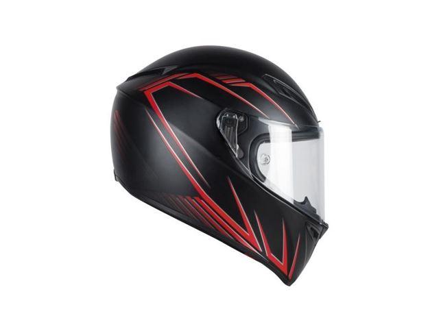 AGV GT-Veloce S Predatore matt black/red ML