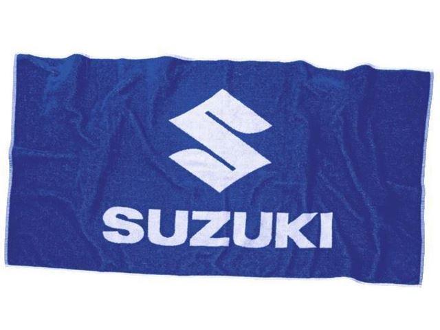 SUZUKI TOWEL BLUE