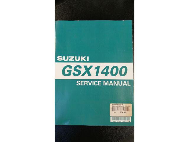 GSX1400 Service manual