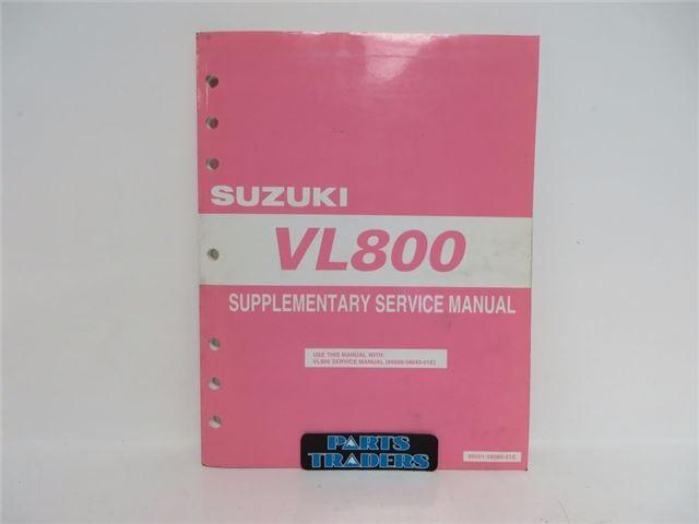 VL800 Service Manual