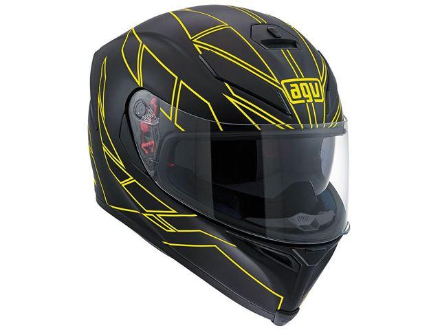 AGV K-5 S Hero black/yellow ML