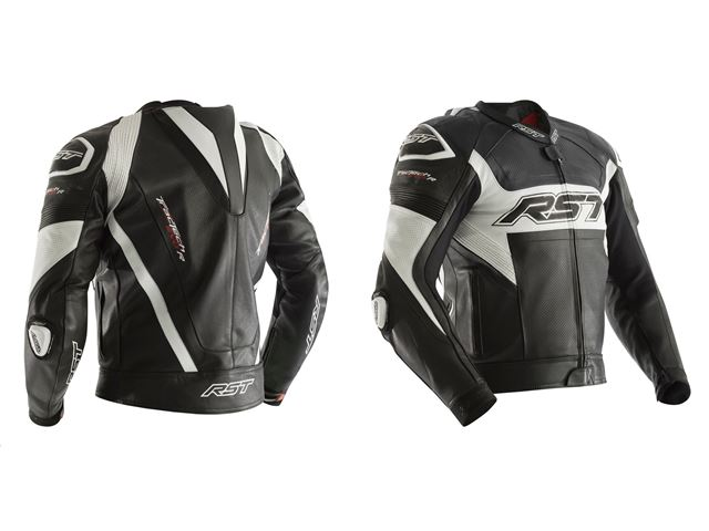 RST Tractech EVO R Jacket Black/White 52