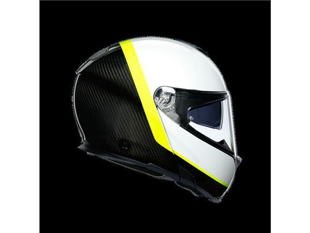 AGV Sport Modular Carbon/White/Yellow M