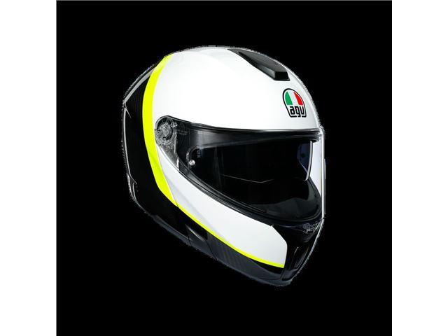 AGV Sport Modular Carbon/White/Yellow XL