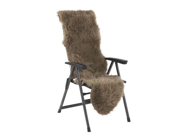 Kunstigt pelsskind 60x180cm - Brun