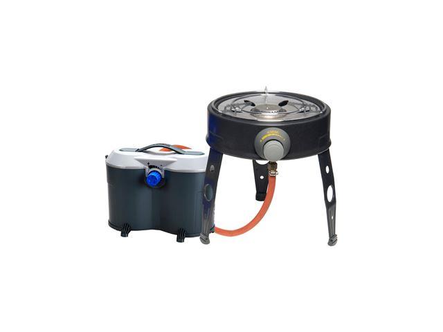 Gasdåseadaptor til 2 gasdåser
