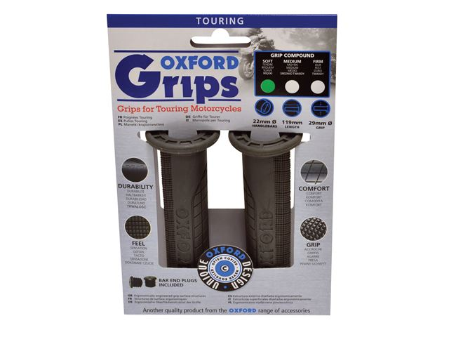 Oxford Touring grips(pair) FIRM