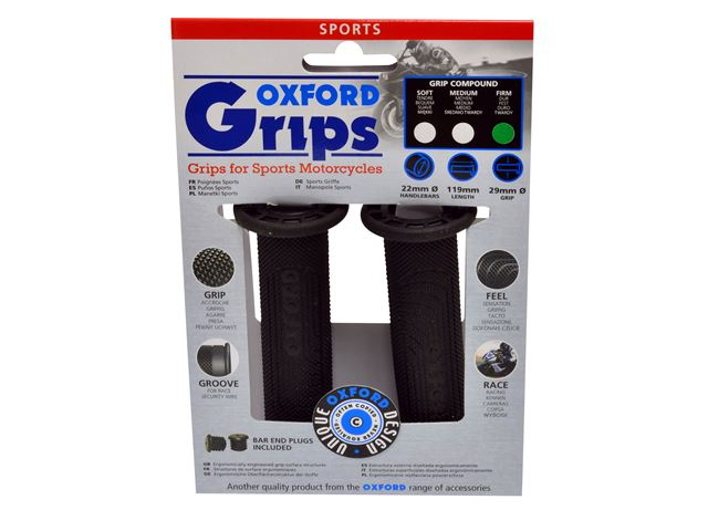 Oxford Sports grips(pair) MEDIUM