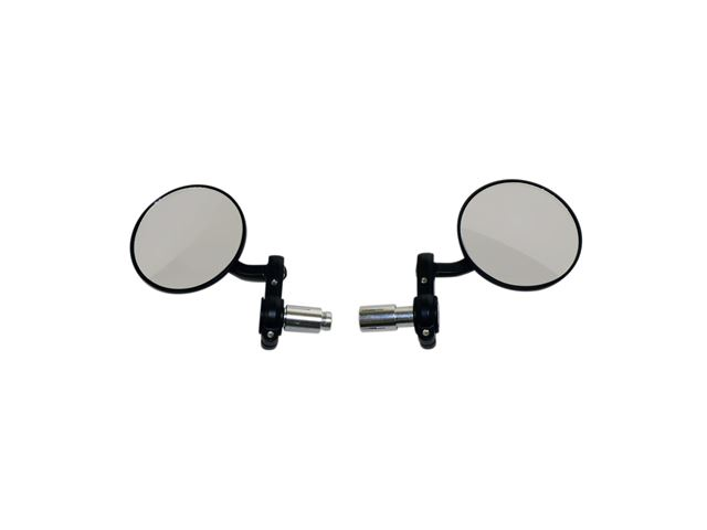 Oxford Bar End Mirrors - Black OX120