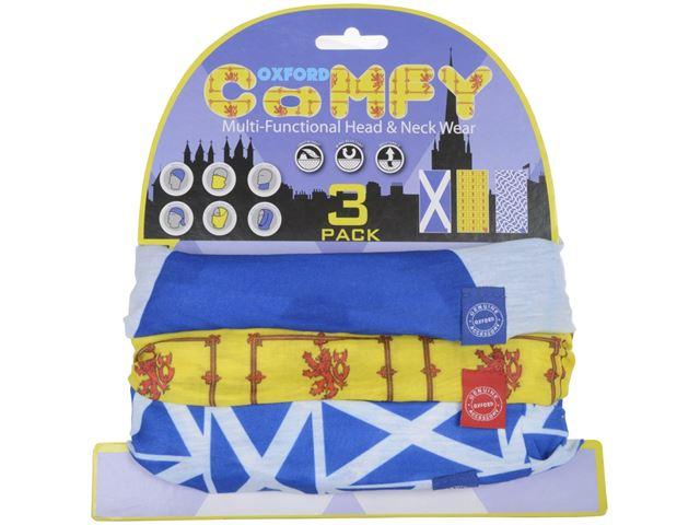 Oxford Comfy Scottish 3-Pack