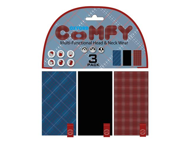 Oxford Comfy Plaid 3-Pack