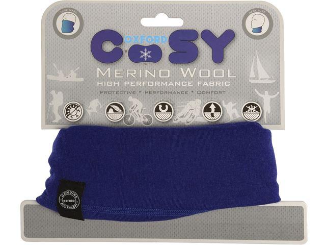 Oxford Merino Wool Cosy Royal Blue
