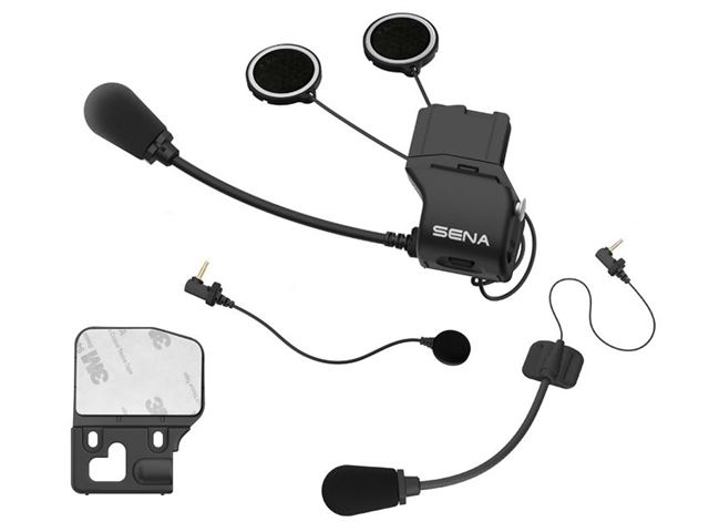 Universal Helmet Clamp Kit with Microphon