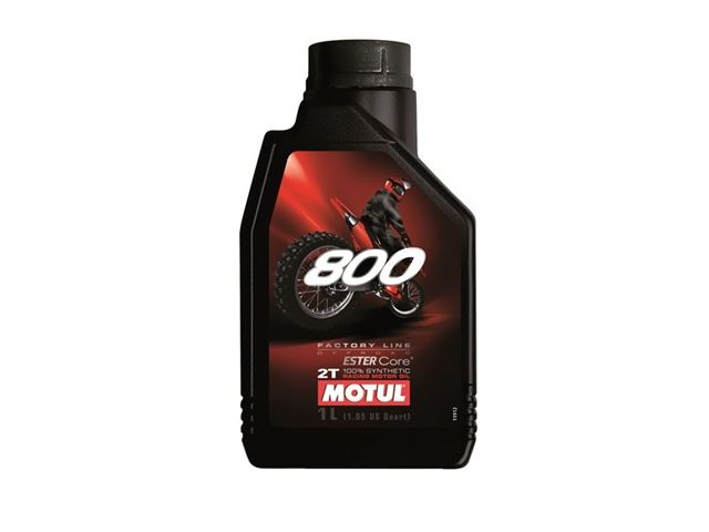 Motul 800 2T Factory line off road 1liters