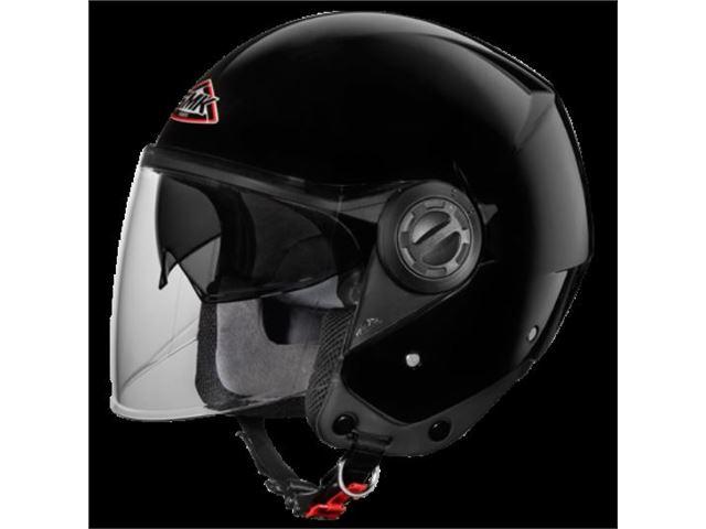 SMK Cooper black (pilot w/sunvisor) SIZE 60