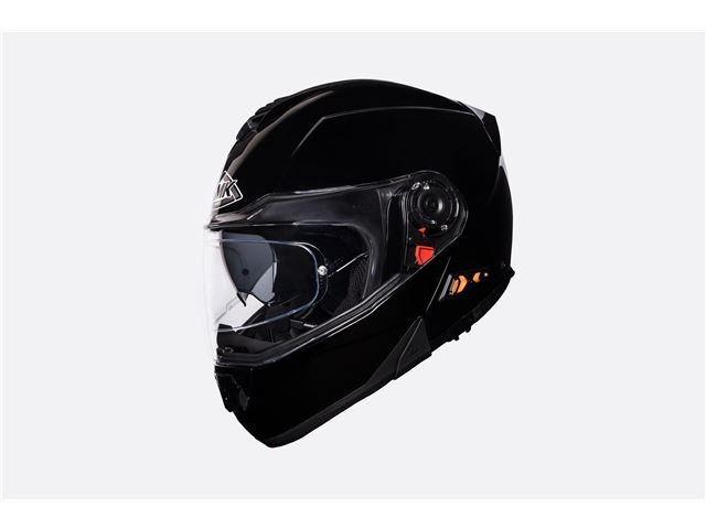 SMK Glide black (flip-up w/sunvisor) SIZE 63