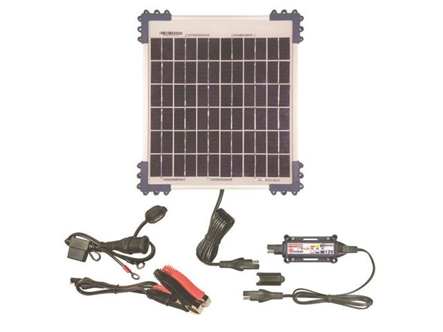 Solar Pulse Charger  12V with 10W solar panel