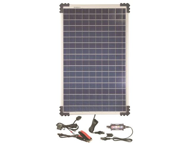 Solar Pulse Charger  12V with 40W solar panel