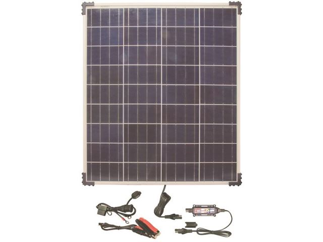 Solar Pulse Charger  12V with 80W solar panel