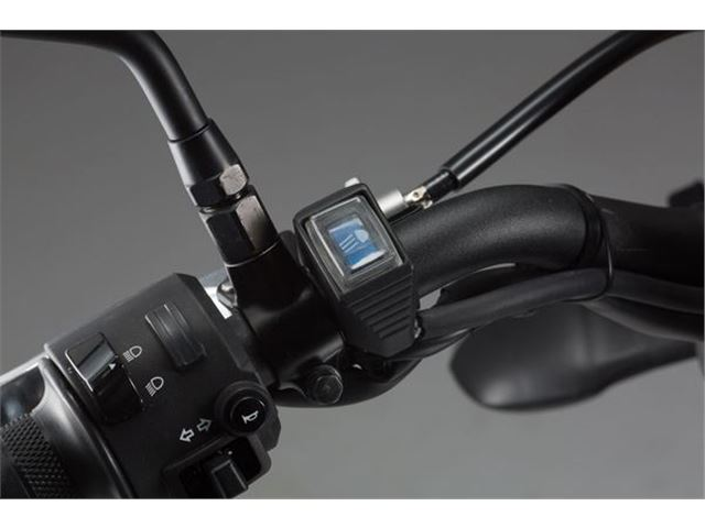 Cockpit switch til EVO Fjernlygte (Blå)