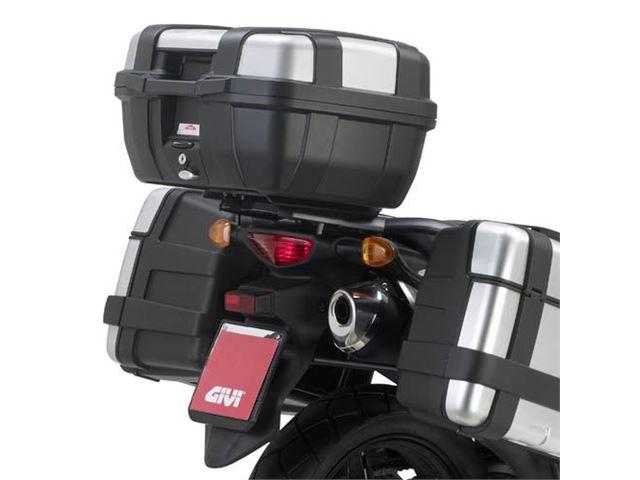 GIVI bagagebærer m/topplade - DL650 V-Strom
