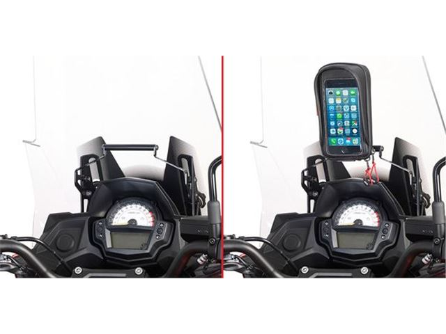 GIVI GPS HOLDER - VERSYS 650 15-17 S902A/S952-7B