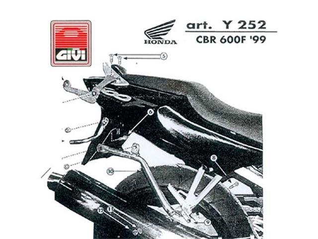 GIVI Mont.Kit TIL N140 CBR600F4