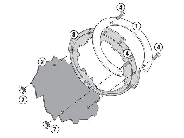 GIVI Tankring - BMW F650GS/F700GS/F800GS