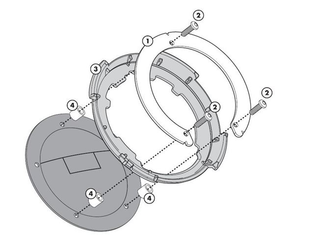 GIVI Tankring - CB650 17-/CBR1000RR 17-