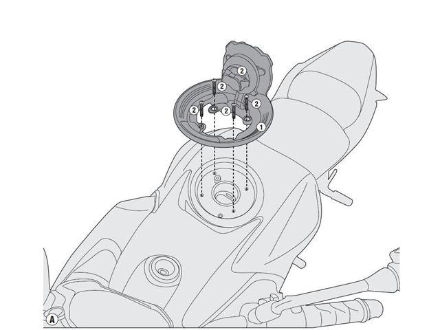 GIVI Tankring - Kawasaki Z 900