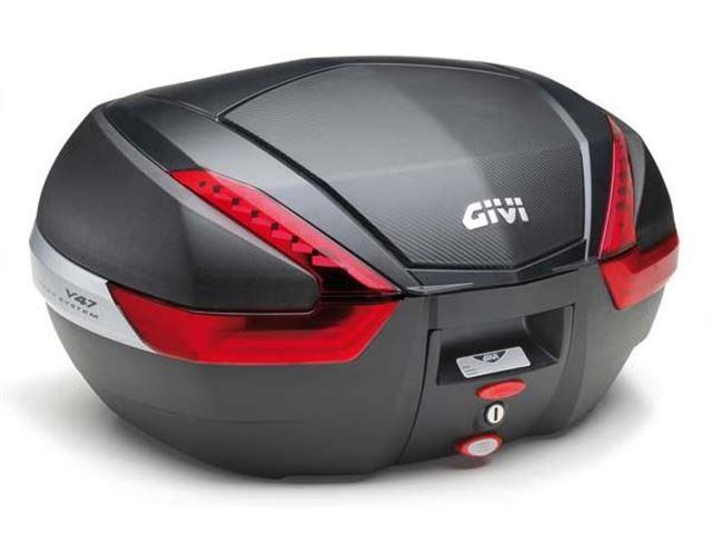 GIVI Topboks Monokey 47L - Carbon Cover
