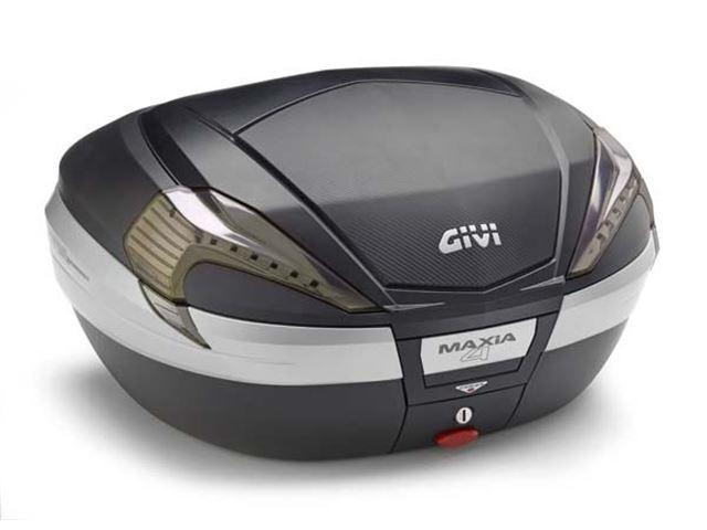 GIVI Topboks Monokey 56L MAXIA 4 Carbon/Klar
