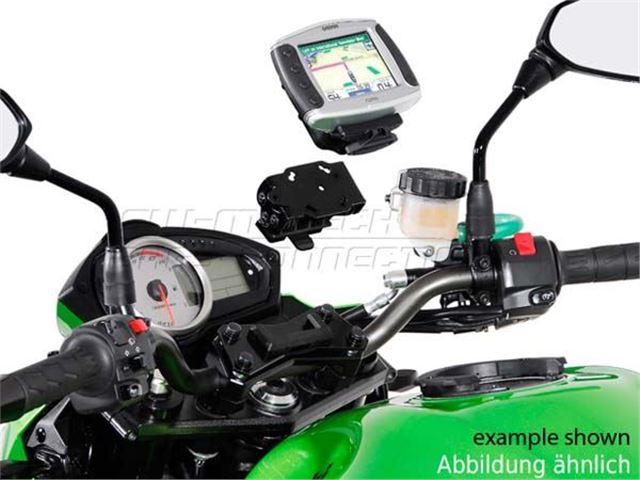 GPS holder på styrholder Honda/Suzuki/BMW